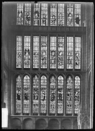 Verrière du transept nord, détail