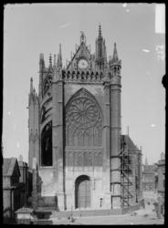 Fin du démontage du portail de Blondel, 1898