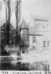 Hôtel du Passetemps au bord de la Moselle, rue Saint-Marcel