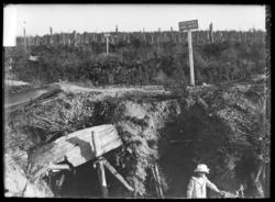 Champs de bataille de la Croix-des-Carmes au Bois-le-Prêtre près de Pont-à…