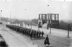 [Parade militaire allemande avant 1918]