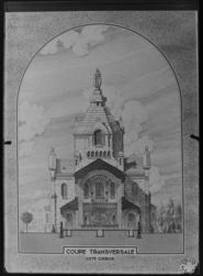 [Reproduction. Projet de l'église Sainte Thérèse de L'Enfant Jésus à Metz…