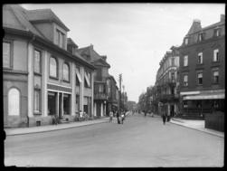 Rue de la gare à Hagondange