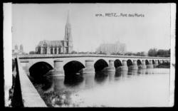 Metz. Pont des Morts