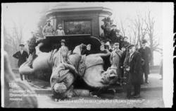 Souvenir des fêtes de la Libération d'Alsace Lorraine. Metz. Monument de l…
