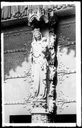 [Cathédrale Saint-Étienne de Metz. Portail de la Vierge]