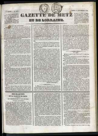 Gazette de Metz et de Lorraine