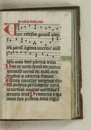Psautier-hymnaire à l'usage de la chartreuse de Rettel