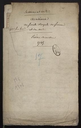 Archives de l'Académie nationale de Metz. Volume 7: Agriculture en général