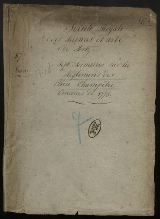 Archives de l'Académie nationale de Metz. Volume 9: Police champêtre et s…