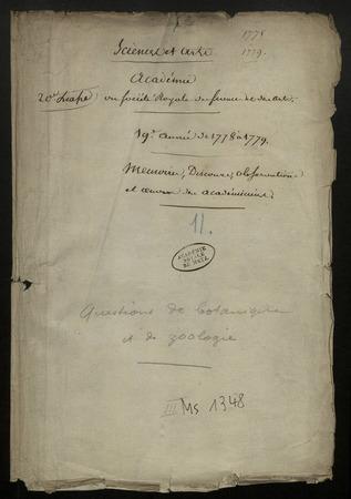 Archives de l'Académie nationale de Metz. Volume 12: Sciences naturelles…
