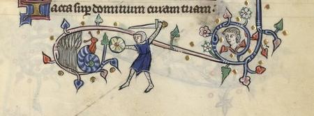Un chevalier combat un escargot