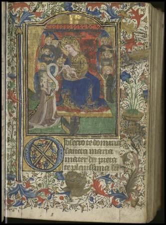 Livre d'heures de Jean de Vy et Perrette Baudoche à l'usage de Metz