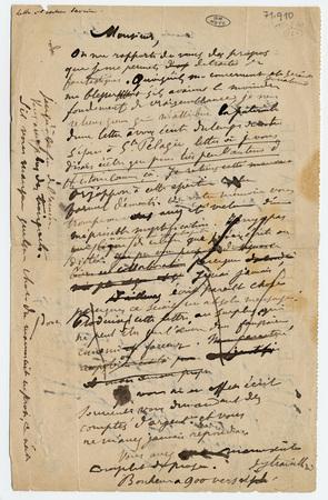 Lettre autographe à l'éditeur Albert Savine