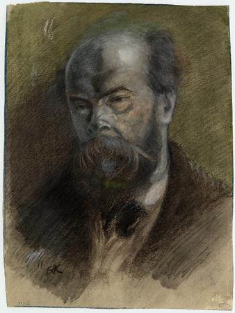 Portrait de Verlaine en buste