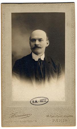 Portrait de Georges Verlaine, fils de Paul Verlaine