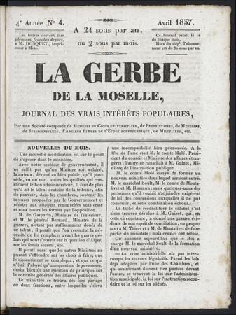 La Gerbe de la Moselle