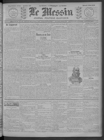 Le Messin: journal politique quotidien