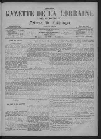 Gazette de la Lorraine