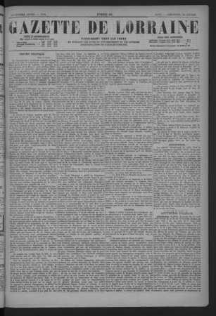 Gazette de Lorraine