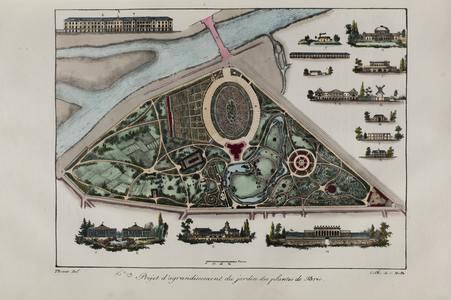 Projet d'agrandissement du jardin des plantes de Paris n°19