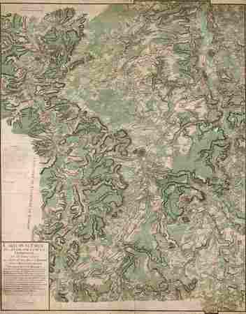 Carte d'une partie de la Lorraine et de la Champagne