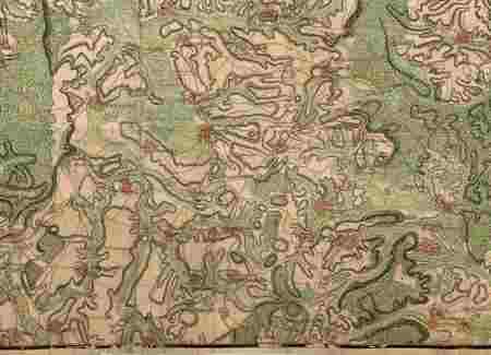 Seconde partie de la carte particulière du cours de la rivière d'Aisne dep…