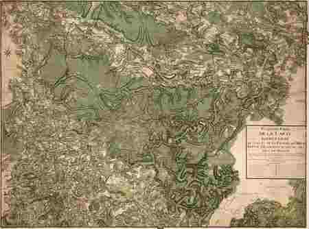 Cinquième partie de la carte particulière du cours de la rivière de Meuse …