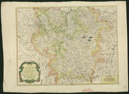 Carte des duchés de Lorraine et Bar, des Evêchés de Metz, Toul, Verdun …