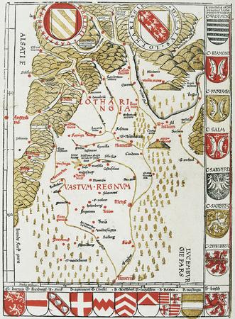 Lorraine, Vaste Royaume, Alsace, Luxembourg en partie