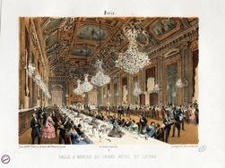 Salle à manger du Grand Hôtel du Louvre
