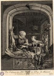 Du cabinet de Mr. le Duc de Choiseul – De la grandeur de 22 pouces 1/2 sur…