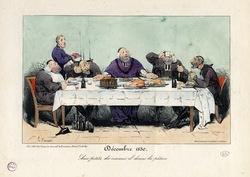 Décembre 1830 – Aux petits des oiseaux il donne la pâture