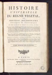 Histoire universelle du règne végétal, ou Nouveau dictionnaire physique et…