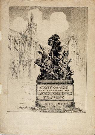 Centenaire de la fondation de l'Académie nationale de Metz: 1819-1919