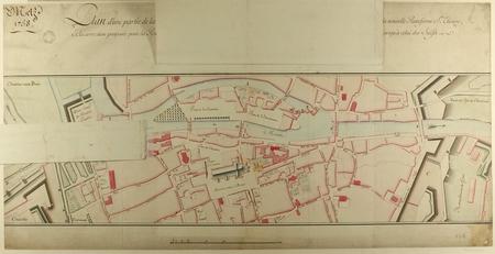Plan d'une partie de la Ville de Metz, pour servir à Se faire connaître le…