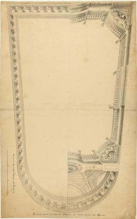 Plafon pour le nouvel Hostel de Spectacle de Metz