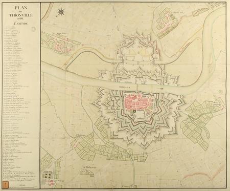 Plan de Thionville 1766