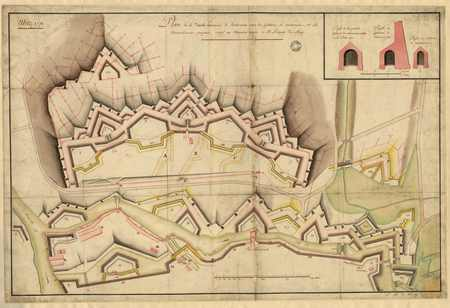 Plan de la double Couronne de Bellecroix…