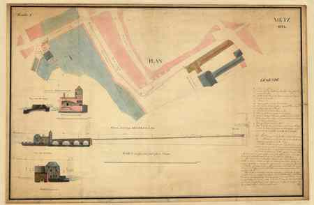 Metz 1821 : feuille 1ère