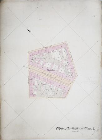 Metz : Plan Cadastral Parcelle 3