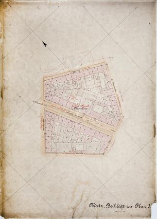 Metz: Plan Cadastral Parcelle 3