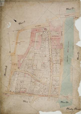 Metz : Plan Cadastral Parcelle 8
