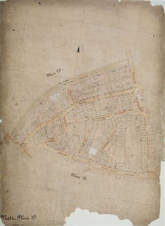 Metz : Plan Cadastral Parcelle 19
