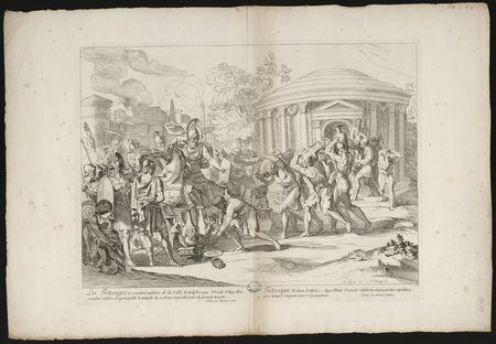 Les Tectosages se rendent maîtres de la ville de Delphes