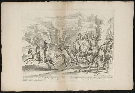 Les Toulousains sous la conduite de leur Roy Theodoric, attaquent Littoriu…