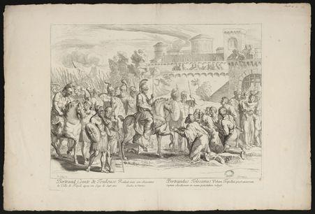 Bertrand Comte de Toulouse réduit sous son obéissance la Ville de Tripoli