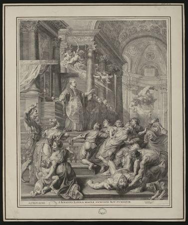 Les miracles de saint Ignace de Loyola