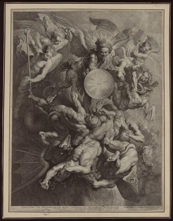 Saint Michel triomphant des anges rebelles