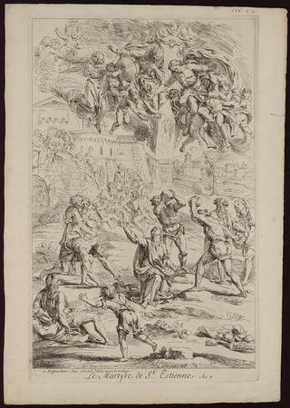 Le martyre de St Etienne